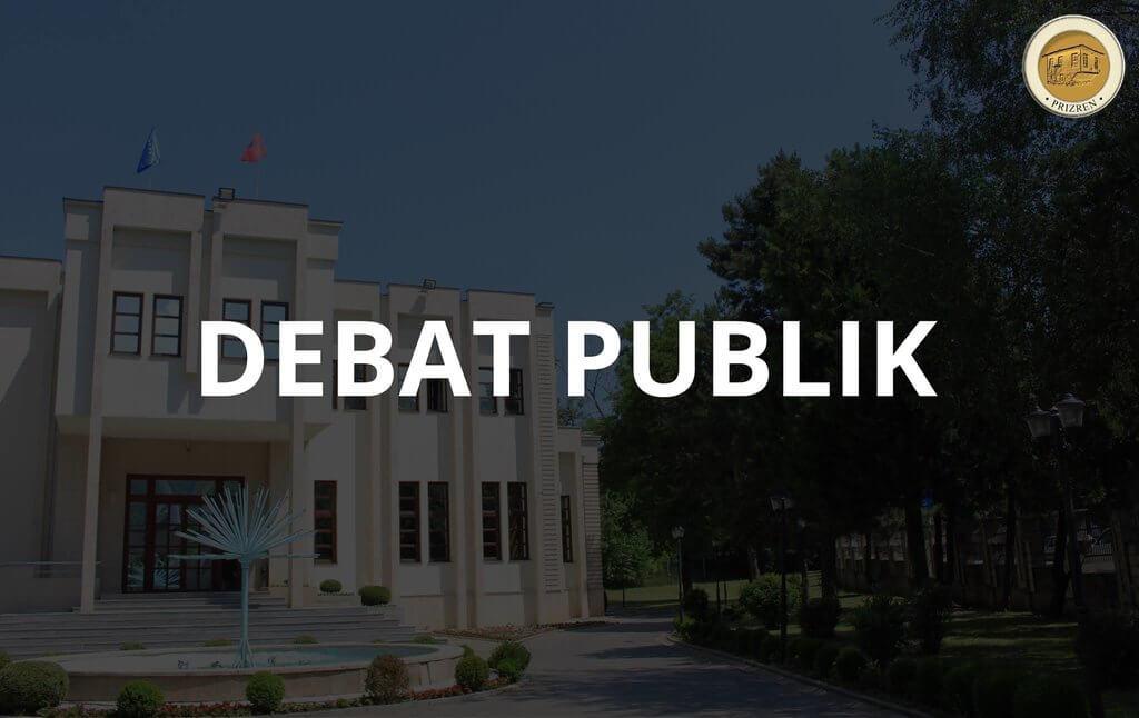 Ftesë për debat publik!